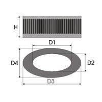 Sportovní filtr Green PEUGEOT 106 1,3L i monopoint & multipoint rok výroby 96-