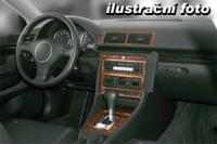 Decor interiéru Peugeot 406 -bez klimatizace rok výroby 09.95 - 06.99 -15 dílů přístrojova deska/ středová konsola/ dveře
