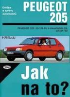 Kniha PEUGEOT 205 /42 - 128 PS a diesel/ od 9/83