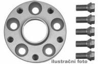 HR podložky pod kola (1pár) PEUGEOT 206 rozteč 108mm 4 otvory stř.náboj 65mm -šířka 1podložky 25mm /sada obsahuje montážní materiál (šrouby, matice)