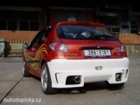 Zadní nárazník Peugeot 206 (tun/car1/54)